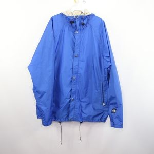 90s The North Face Mens XL Gore Tex Jacket Blue